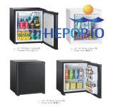 DC12V Popular High-End Hotel Utilize Mini Gás Bar Freezer (HP-XC50) Refrigerador de Absorção