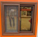 Alluminio e finestra di scivolamento di vetro con lo schermo