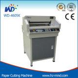 Профессиональный мотор изготовления Wd-4605k отжимая резец Цифров-Управления бумажный