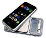 iPhone 모양 금 다이아몬드 포켓 디지털 보석 가늠자