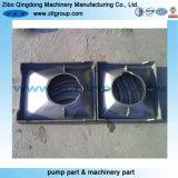 Metal que processa as peças de maquinaria