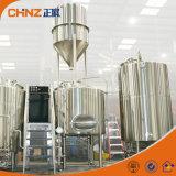 Sistema casero eléctrico de llavero de la fabricación de la cerveza de 2bbl 3bbl para la venta