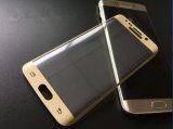 El vidrio Tempered de la galaxia S7edge de Samsung de los protectores de la pantalla Anti-Rasguña el vidrio Tempered