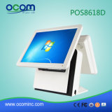 "Hot 15 ""Touch All in One PC Registre POS avec terminal double"