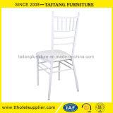 Weißes Metallhochzeits-Stuhl-Miete