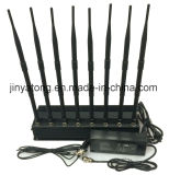 L'emittente di disturbo 8 del telefono mobile di frequenza ultraelevata di VHF di Lojack/WiFi/lega 60 tester