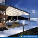 Pabellón retractable de aluminio del patio de la pérgola de los toldos