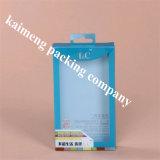 Diseño plástico del plegado en abanico del embalaje del animal doméstico del claro de la fuente de China (caja de embalaje plástica)