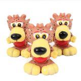 Haustier-Vinylspielzeug-reizender Tiger-Hundequietschendes Spielzeug (KB1048)