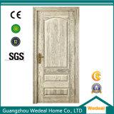Portes intérieures en bois solides chêne rouge/blanc pour des projets