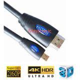 Tipo modellato tipo cavo di D HDMI
