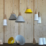 lâmpadas brancas do pendente da cor do estilo da forma do preço 2017fatory para a iluminação da decoração da sala de visitas