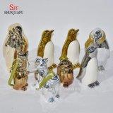Pinguino sveglio per la famiglia/ufficio/decorazione festival/del caffè/Ceramic/a placcante