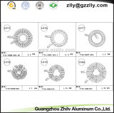 건축재료를 위한 알루미늄 단면도 또는 밀어남 점화 열 싱크 또는 방열기