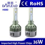 차를 위한 자동 헤드라이트 880 알루미늄 방열기 LED 헤드라이트