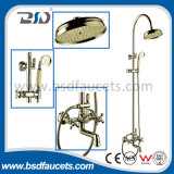 Rainfall Arm Control Brass Ensemble de douche en laiton