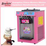 Drei Aroma-Eiscreme-Hersteller