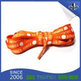 Lacets colorés faits sur commande bon marché de polyester d'impression pour la promotion