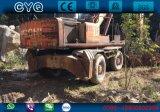 L'excavatrice utilisée Hitachi Ex160wd, Japon de roue a utilisé l'excavatrice de roue