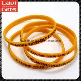 Lustiges Custom Silicone Rubber Bracelet mit Logo