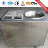 El acero inoxidable del precio de fábrica frió la máquina del rodillo del helado para la venta
