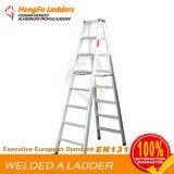 8 de Ladder van het Lassen van de Ladder van het Aluminium van stappen