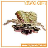 Divisa linda del botón de Cortoon de la insignia de encargo con el regalo de la divisa de escuela (YB-HD-71)
