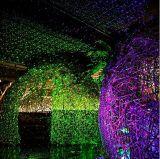 Миниый этап освещая напольный зеленый лазерный луч IP65 голубой звезды делает освещение водостотьким ярда сада рождества валов декоративное