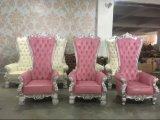 Fünf Stern-Hotel-Möbel-Stuhl mit Höhen-Rückseiten-goldener Farbe für Wohnzimmer-Stuhl
