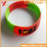 Kundengerechte Form-vertrauenswürdiges Sport-Silikon-Armband