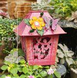 Arte colorido del pájaro del metal del jardín