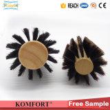 Los cepillos de pelo de madera de Detangling de la cerda del verraco del Fsc venden al por mayor (JMFH-122)