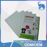 Commercio all'ingrosso scuro e chiaro della migliore di qualità di getto di inchiostro maglietta della stampante di scambio di calore della carta da stampa lavabile di A4/A3 /Roll di prezzi