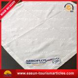 Surtidor de la servilleta de la línea aérea de la servilleta del algodón del uso del hotel del aeroplano del color sólido