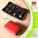 Conjuntos portables de Pedicure de la manicura de las muchachas de 8 pedazos para los productos que viajan