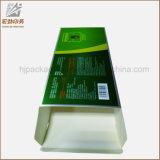 Boîte de empaquetage estampée par coutume remplaçable à aliments de préparation rapide de papier d'emballage