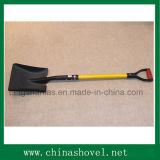 Spade Railway Steel Spade Shovel avec poignée en fibre de verre