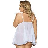Transparente envío rápido de las mujeres del camisón
