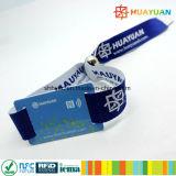 Wristband tecido NFC do festival de música de NTAG213 RFID