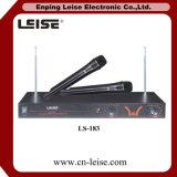 좋은 품질 Ls 183 이중 채널 VHF 무선 마이크