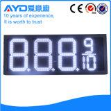 Hidly el panel blanco del precio de la gasolina de Asia LED de 12 pulgadas