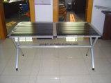 Pliage, aluminium, Tableau campant