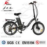 """20台の""""アルミ合金フレーム36Vのリチウム電池の折るEバイク(JSL039W-16)"""