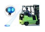 Chemin tous terrains 12V 48V de chariot élévateur d'éclairage LED d'entrepôt de sûreté d'endroit d'avertissement bleu de lampe