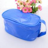 La bolsa de plástico de encargo de EVA del claro de la impresión con la cremallera