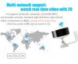 Video video della macchina fotografica senza fili grandangolare di HD per obbligazione domestica