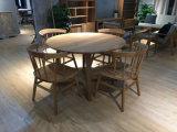 Mobília estereoscopicamente e especialmente antiga para a sala de jantar
