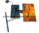 16: 9 módulo do indicador do LCD de 8 polegadas