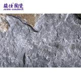 Cerâmica de Foshan Juimsi a telha rústica da pedra da areia da telha de assoalho da porcelana da cor preta
