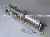 Llenador grande del detergente líquido del volumen de Semiauto